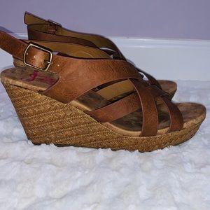 JellyPop Springs Wedge Sandal size 8.5